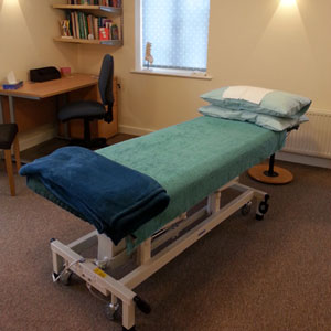 Howe Osteopathy treatment room