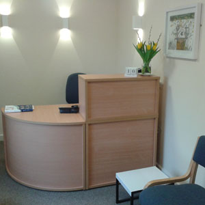 Howe Osteopathy reception area